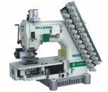 12-игольная плоскошовная швейная машина цепного стежка ZOJE ZJ1414-100-403-601-616-12064