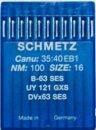 Игла Schmetz DVx63 (Bx63) SES № 60/8J