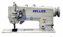 VELLES VLD 2875H Промышленная двухигольная швейная машина челночного стежка