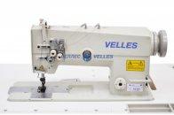 VELLES VLD 2872H Промышленная двухигольная швейная машина челночного стежка